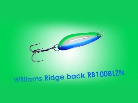 Обзор блесны Williams Ridge back RB100BLZN