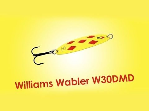 блесна williams wabler w30
