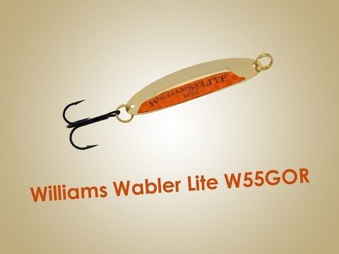 Обзор блесны Williams Wabler Lite W55GOR 7г