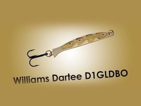 Обзор блесны Williams Dartee D1GLDBO