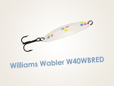 Обзор блесны Williams Wabler W40WBRED
