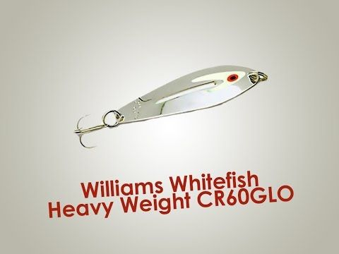 Обзор блесны Williams Whitefish Heavy Weight CR60GLO